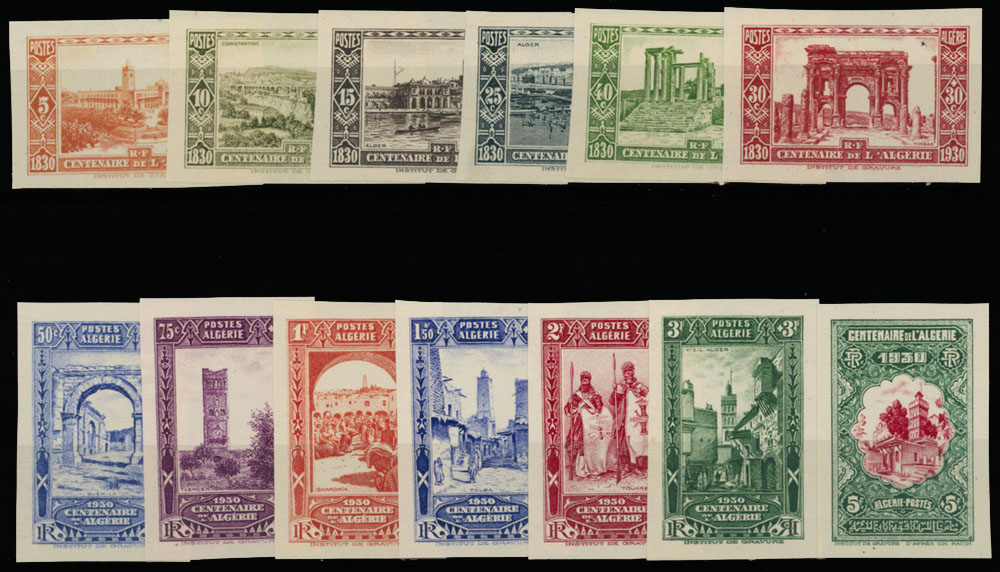 Lot 617 - french colonies Algeria - Semi - Postal issues -  Raritan Stamps Inc. Live Bidding Auction #89