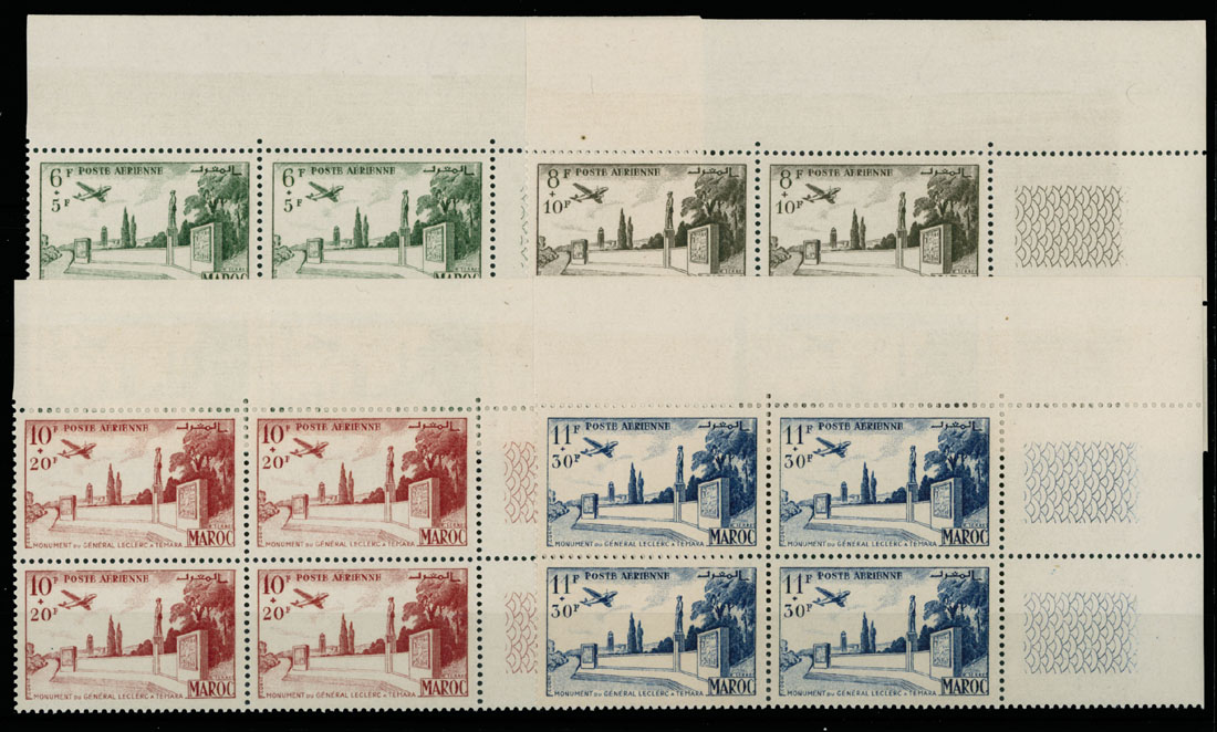 Lot 618 - french colonies french morocco -  Raritan Stamps Inc. Live Bidding Auction #89