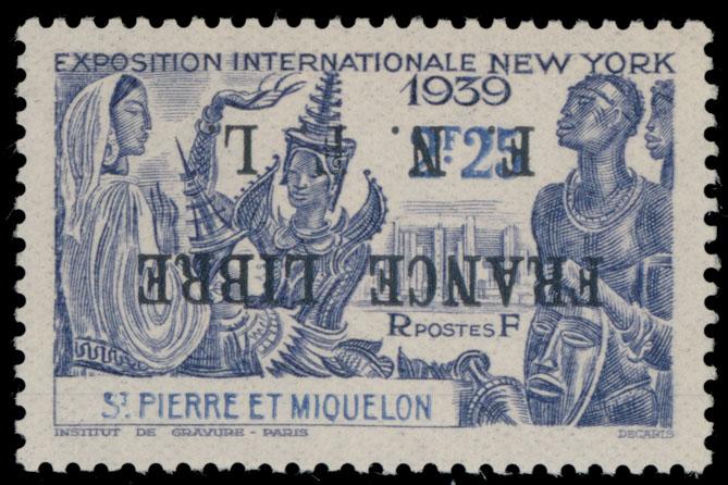 Lot 620 - french colonies Saint Pierre and Miquelon -  Raritan Stamps Inc. Live Bidding Auction #89