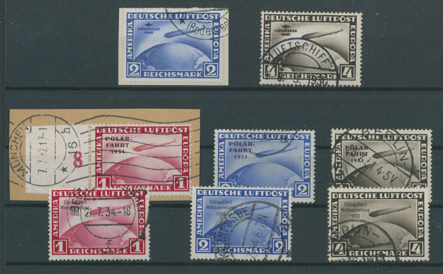 Lot 634 - germany air post stamps -  Raritan Stamps Inc. Live Bidding Auction #89
