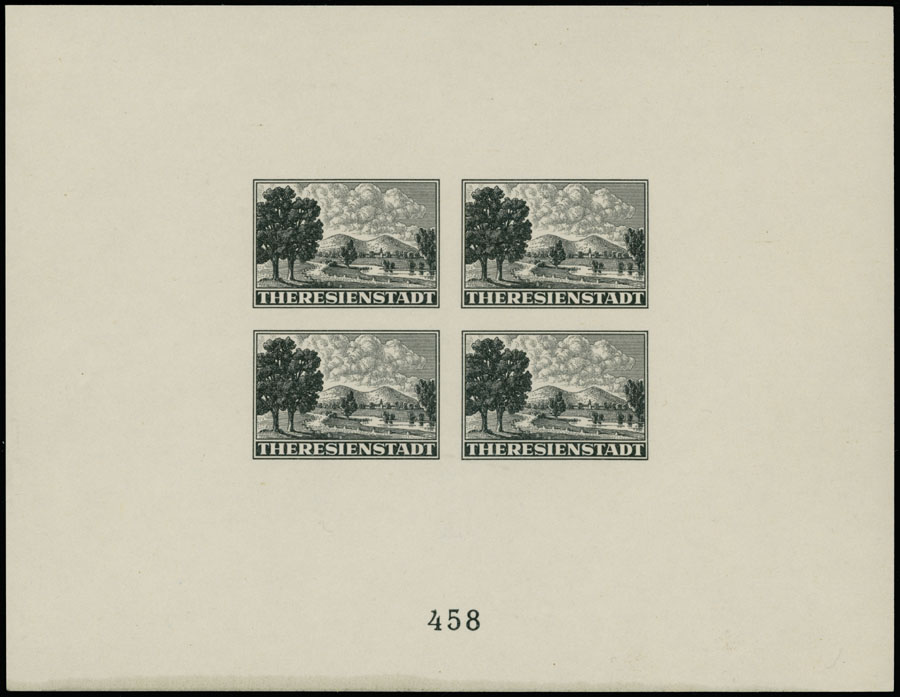 Lot 673 - Germany. - Occupation Issues of the World War II bohemia and moravia -  Raritan Stamps Inc. Live Bidding Auction #89