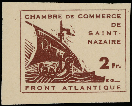 Lot 678 - Germany. - Occupation Issues of the World War II France -  Raritan Stamps Inc. Live Bidding Auction #89