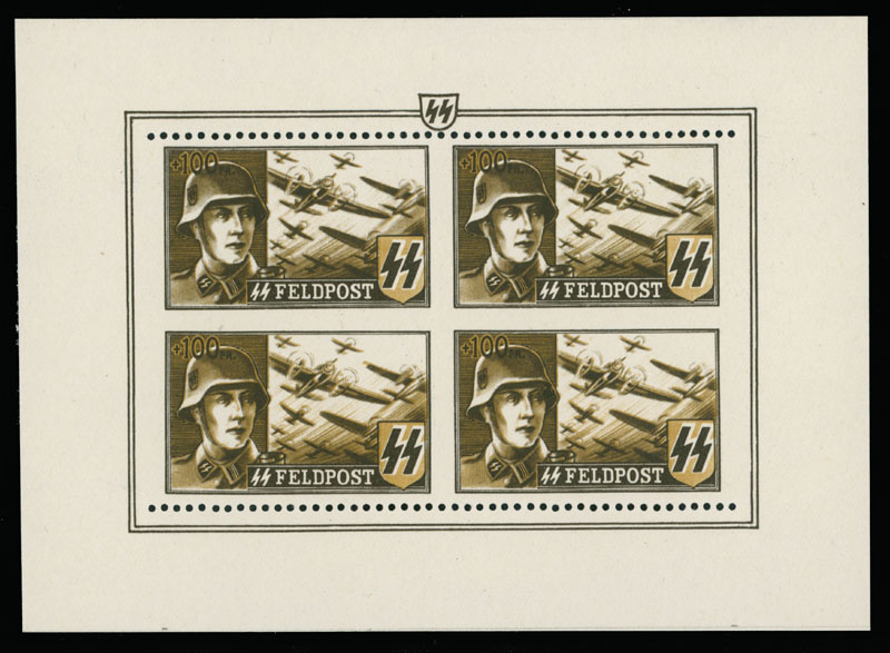 Lot 706 - Germany. - Occupation Issues of the World War II private issues -  Raritan Stamps Inc. Live Bidding Auction #89