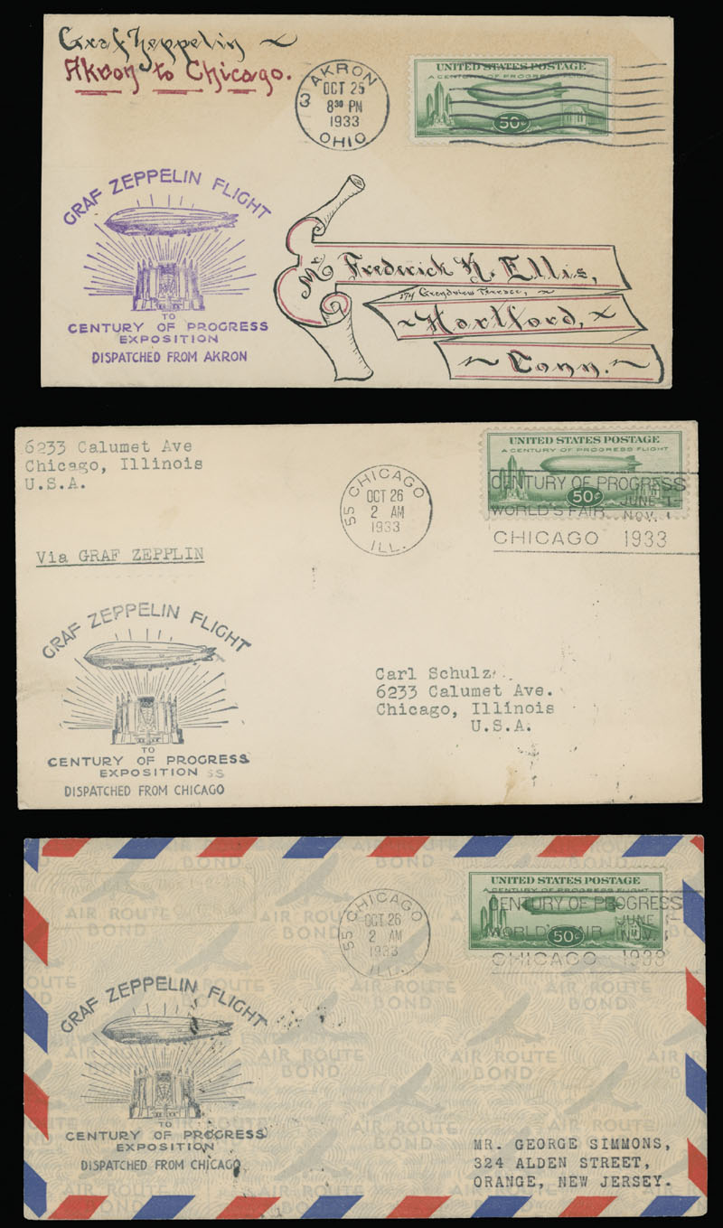 Lot 72 - united states air post stamps and covers -  Raritan Stamps Inc. Live Bidding Auction #89