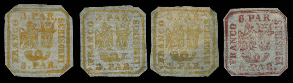 Lot 934 - Romania Moldavia - Walachia -  Raritan Stamps Inc. Live Bidding Auction #89