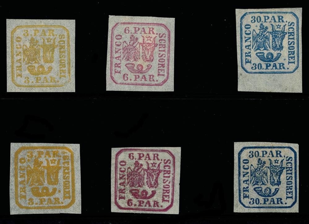 Lot 936 - Romania Moldavia - Walachia -  Raritan Stamps Inc. Live Bidding Auction #89
