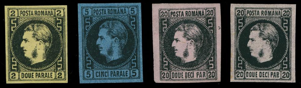 Lot 949 - Romania  -  Raritan Stamps Inc. Live Bidding Auction #89