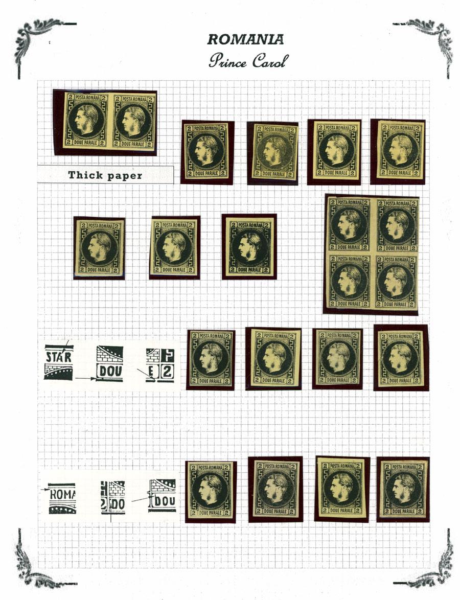Lot 953 - Romania  -  Raritan Stamps Inc. Live Bidding Auction #89